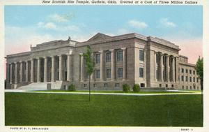 Primary view of object titled 'New Scottish Rite Temple'.