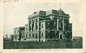Primary view of object titled 'Comanche County Court House'.