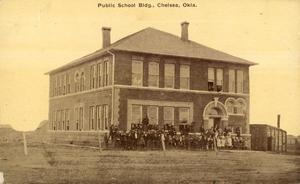 Primary view of object titled 'Public School'.