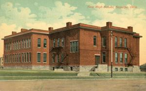 Primary view of object titled 'New High School'.
