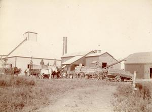 Primary view of object titled 'Cotton Gin'.