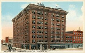 Primary view of object titled 'Kingkade Hotel, Lawrence Building'.