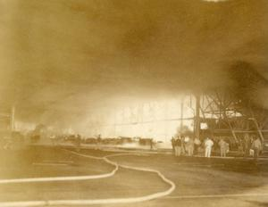 Primary view of object titled 'Tinker Air Force Base Fire'.