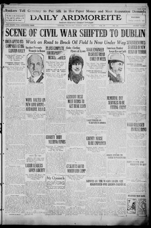 Primary view of Daily Ardmoreite (Ardmore, Okla.), Vol. 29, No. 126, Ed. 1 Sunday, May 28, 1922
