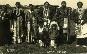 Primary view of object titled 'Otoe Indians'.