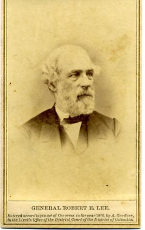 Primary view of General Robert E. Lee