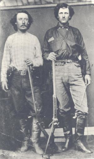 Primary view of Jim Elder and Bill Tilghman