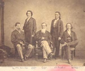 Primary view of 1866 Cherokee Delegation to Washington, DC