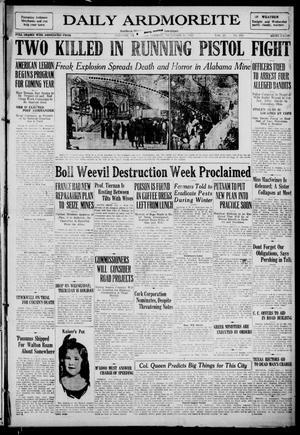 Primary view of Daily Ardmoreite (Ardmore, Okla.), Vol. 29, No. 253, Ed. 1 Tuesday, November 28, 1922