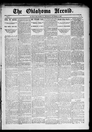 Primary view of object titled 'The Oklahoma Herald. (El Reno, Okla. Terr.), Vol. 5, No. 35, Ed. 1 Thursday, December 21, 1893'.