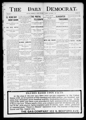 Primary view of The Daily Democrat. (El Reno, Okla.), Vol. 4, No. 138, Ed. 1 Thursday, September 1, 1904