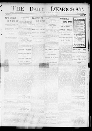 Primary view of object titled 'The Daily Democrat. (El Reno, Okla.), Vol. 4, No. 168, Ed. 1 Thursday, October 6, 1904'.