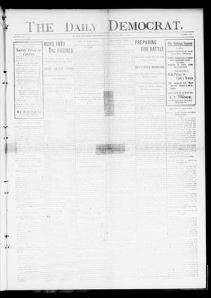 Primary view of object titled 'The Daily Democrat. (El Reno, Okla. Terr.), Vol. 4, No. 234, Ed. 1 Thursday, December 22, 1904'.