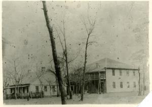 Primary view of object titled 'Wetumka Boarding School'.