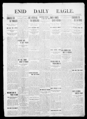 Primary view of object titled 'Enid Daily Eagle. (Enid, Okla.), Vol. 8, No. 87, Ed. 1 Saturday, December 26, 1908'.