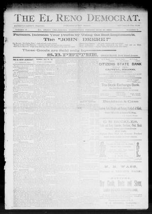 Primary view of object titled 'The El Reno Democrat. (El Reno, Okla. Terr.), Vol. 3, No. 5, Ed. 1 Friday, March 10, 1893'.