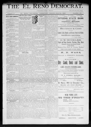 Primary view of The El Reno Democrat. (El Reno, Okla. Terr.), Vol. 3, No. 24, Ed. 1 Friday, July 21, 1893