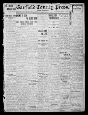 Primary view of object titled 'Garfield County Press. And Enid Wave-Democrat (Enid, Okla.), Vol. 1, No. 2, Ed. 1 Thursday, February 16, 1911'.