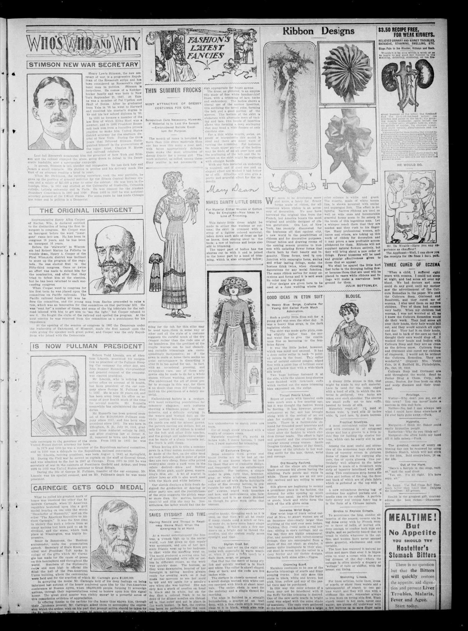 Garfield County Press. And Enid Wave-Democrat (Enid, Okla.), Vol. 17, No. 29, Ed. 1 Thursday, June 22, 1911                                                                                                      [Sequence #]: 3 of 8