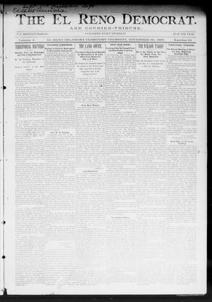 Primary view of object titled 'The El Reno Democrat. And Courier-Tribune. (El Reno, Okla. Terr.), Vol. 4, No. 43, Ed. 1 Thursday, November 30, 1893'.