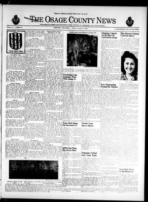 Primary view of The Osage County News (Pawhuska, Okla.), Vol. 34, No. 51, Ed. 1 Friday, November 2, 1945