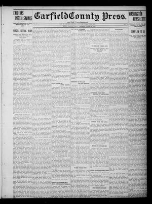 Primary view of object titled 'Garfield County Press. And Enid Wave-Democrat (Enid, Okla.), Vol. 17, No. 38, Ed. 1 Thursday, August 24, 1911'.