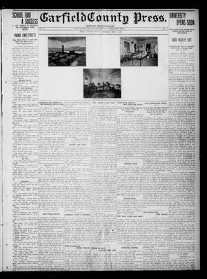 Primary view of object titled 'Garfield County Press. And Enid Wave-Democrat (Enid, Okla.), Vol. 17, No. 40, Ed. 1 Thursday, September 14, 1911'.