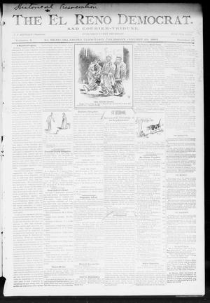 Primary view of object titled 'The El Reno Democrat. And Courier-Tribune. (El Reno, Okla. Terr.), Vol. 4, No. 51, Ed. 1 Thursday, January 25, 1894'.