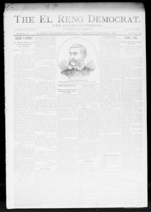 Primary view of object titled 'The El Reno Democrat. And Courier-Tribune. (El Reno, Okla. Terr.), Vol. 4, No. 52, Ed. 1 Thursday, February 1, 1894'.