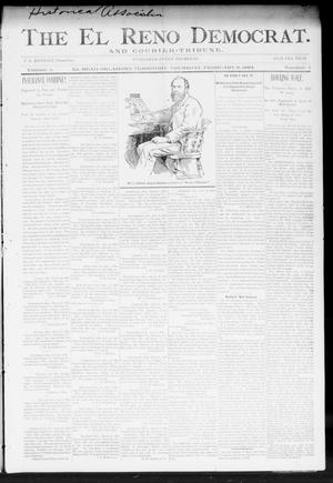 Primary view of object titled 'The El Reno Democrat. And Courier-Tribune. (El Reno, Okla. Terr.), Vol. 5, No. 1, Ed. 1 Thursday, February 8, 1894'.