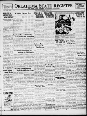 Primary view of Oklahoma State Register (Guthrie, Okla.), Vol. 45, No. 2, Ed. 1 Thursday, March 26, 1936
