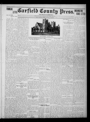 Primary view of object titled 'Garfield County Press. And Enid Wave-Democrat (Enid, Okla.), Vol. 17, No. 49, Ed. 1 Thursday, November 9, 1911'.