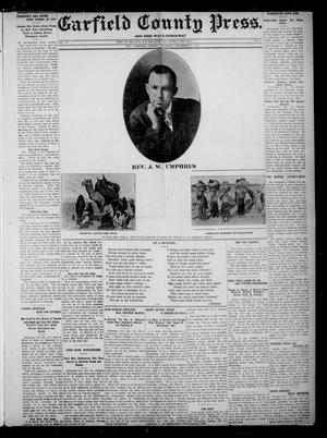 Primary view of object titled 'Garfield County Press. And Enid Wave-Democrat (Enid, Okla.), Vol. 18, No. 3, Ed. 1 Thursday, December 21, 1911'.