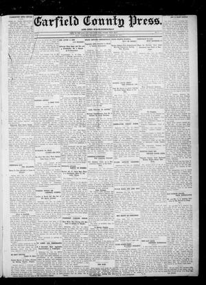 Primary view of object titled 'Garfield County Press. And Enid Wave-Democrat (Enid, Okla.), Vol. 18, No. 4, Ed. 1 Thursday, December 28, 1911'.