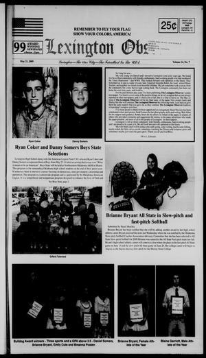 Primary view of Lexington Observer (Lexington, Okla.), Vol. 14, No. 7, Ed. 1 Thursday, May 21, 2009