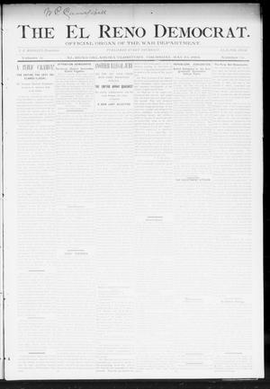 Primary view of object titled 'The El Reno Democrat. (El Reno, Okla. Terr.), Vol. 5, No. 15, Ed. 1 Thursday, May 10, 1894'.