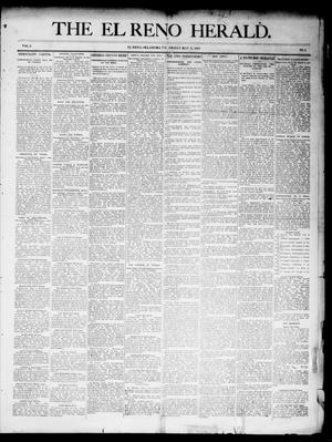 Primary view of object titled 'The El Reno Herald. (El Reno, Okla. Terr.), Vol. 6, No. 3, Ed. 1 Friday, May 11, 1894'.