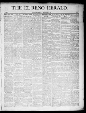 Primary view of object titled 'The El Reno Herald. (El Reno, Okla. Terr.), Vol. 6, No. 7, Ed. 1 Friday, June 8, 1894'.