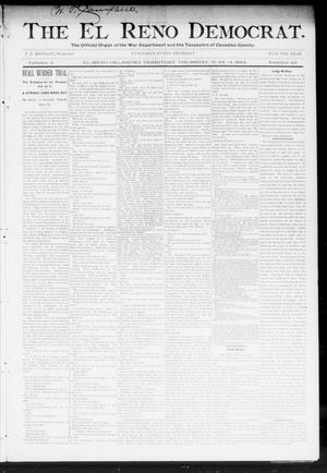 Primary view of object titled 'The El Reno Democrat. (El Reno, Okla. Terr.), Vol. 5, No. 20, Ed. 1 Thursday, June 14, 1894'.