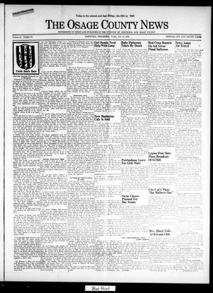 Primary view of The Osage County News (Pawhuska, Okla.), Vol. 34, No. 35, Ed. 1 Friday, July 13, 1945