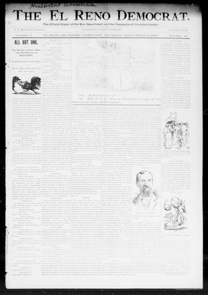 Primary view of object titled 'The El Reno Democrat. (El Reno, Okla. Terr.), Vol. 5, No. 32, Ed. 1 Thursday, September 6, 1894'.