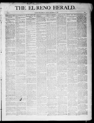 Primary view of object titled 'The El Reno Herald. (El Reno, Okla. Terr.), Vol. 6, No. 8, Ed. 1 Friday, September 14, 1894'.