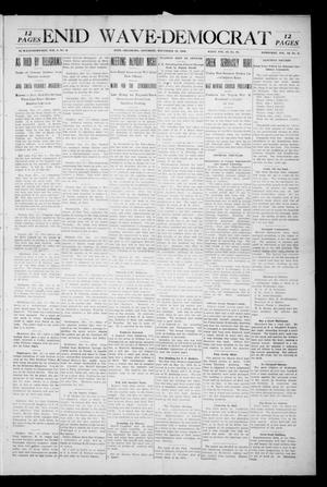Primary view of Enid Wave-Democrat (Enid, Okla.), Vol. 1, No. 3, Ed. 1 Saturday, December 19, 1908
