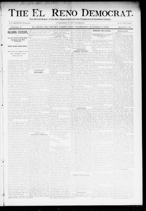 Primary view of object titled 'The El Reno Democrat. (El Reno, Okla. Terr.), Vol. 5, No. 37, Ed. 1 Thursday, October 11, 1894'.