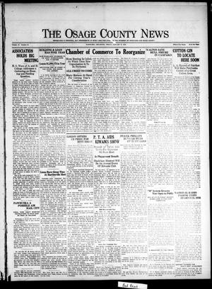 Primary view of The Osage County News (Pawhuska, Okla.), Vol. 13, No. 21, Ed. 1 Friday, January 15, 1926