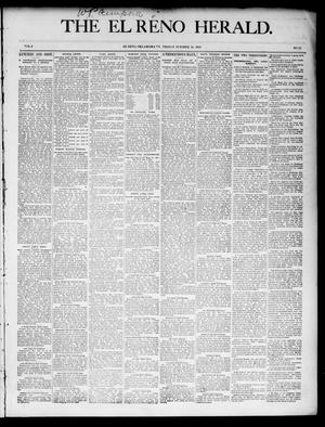 Primary view of object titled 'The El Reno Herald. (El Reno, Okla. Terr.), Vol. 6, No. 13, Ed. 1 Friday, October 19, 1894'.