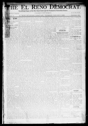 Primary view of object titled 'The El Reno Democrat. (El Reno, Okla. Terr.), Vol. 5, No. 49, Ed. 1 Thursday, January 3, 1895'.