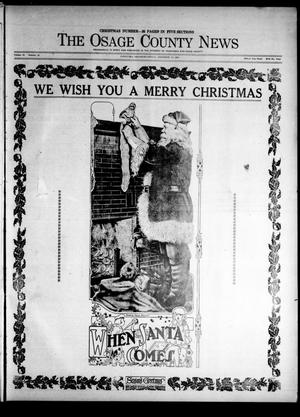Primary view of The Osage County News (Pawhuska, Okla.), Vol. 15, No. 18, Ed. 1 Friday, December 17, 1926