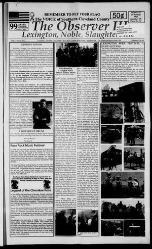 Primary view of The Observer III (Lexington, Okla.), Vol. 2, No. 9, Ed. 1 Friday, May 4, 2012
