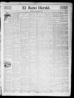 Primary view of object titled 'El Reno Herald. (El Reno, Okla. Terr.), Vol. 6, No. 34, Ed. 1 Friday, March 15, 1895'.